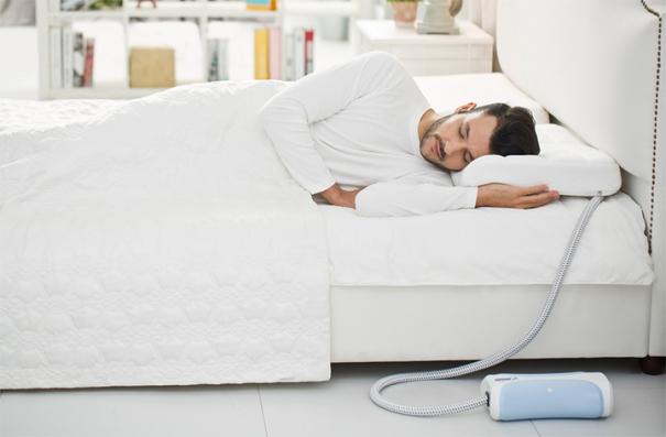 Спите без храпа с подушкой nitetronic goodnite